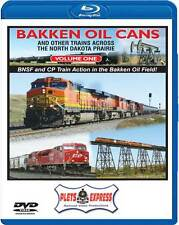 Bakken Oil Cans Vol 1 and Other Trains Across the North Dakota Prairie BLU-RAY