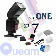 Pixco PG-708 como YN-565EX Speedlite flash de luz para Canon 5DII 7D 60D 650D 600D