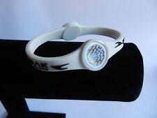Bracelet silicone double hologramme Energie POINT BREAK neuf M Blanc  val:29€