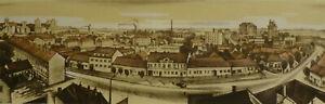Original - vintage lithograph - Slovak graphic art