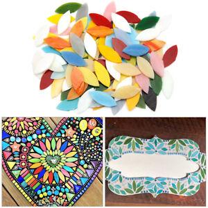 100Stk Mosaiksteine Glasmosaik Mosaik bunte Mischung Mix f. Küchenspiegel Dusche