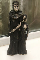 Vintage Leonardo African Tribal Figurine. Princess Mother&Daughter.30cm.