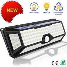 180/136 LED jardin lampes LED solaires 1500LM lampe solaire extérieure capteur