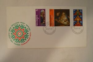 Day Cover - New Zealand - 1971 - Christmas Issue