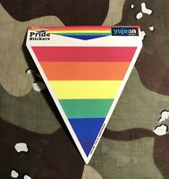 Rainbow Triangle Sticker R002S LGBTQ Pride Gay Rights Civil Rights