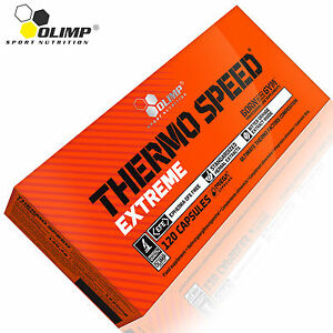Thermo Speed Extreme 120 Caps. Thermogenic Fat Burner Weight Loss Slim Figure