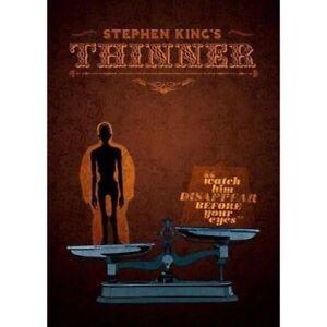 Thinner DVD Stephen King New Australian Release