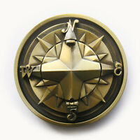 Men Belt Buckle 3D Compass Belt Buckle Gurtelschnalle Boucle also Stock in US
