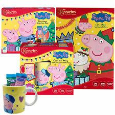 Peppa Pig Weihnachten XL Schokobox mit Adventskalender und Tasse
