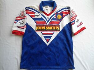 VINTAGE GREAT BRITAIN LIONS PUMA RUGBY LEAGUE JERSEY SHIRT XL
