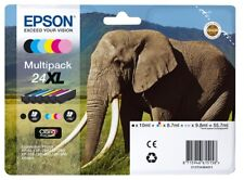 Epson Elephant 24XL (Yield: 500 Black/740 Colour Pages) High Yield