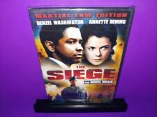 The Siege (DVD, 2007, Martial Law Edition) Bruce Willis Brand New B498