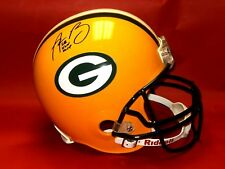 AARON RODGERS AUTOGRAPHED GREEN BAY PACKERS FS HELMET SUPER BOWL XLV MVP AASH