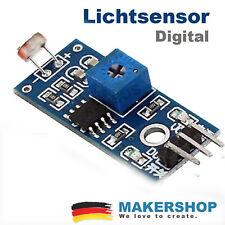 Lichtsensor Helligkeitssensor Modul Fotowiderstand für Arduino Raspberry Pi