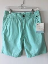Reef Walk Shorts Mint Green Men's Size 28 NWT