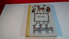 """Bambi"" by Felix Salten,Hardcover,First Edition 1929,Jr.Deluxe Edition"