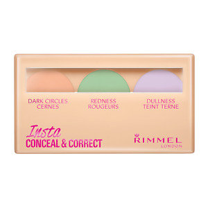RIMMEL LONDON INSTA CONCEAL AND CORRECT CONCEALER PALLETE 8.4G *BRAND NEW*