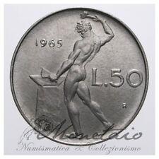 (Monetaio) Repubblica Italiana 50 Lire 1965 Vulcano qFDC