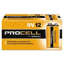 Duracell Procell 9 Volt Batteries, Pack of 12 USA FREE SHIPPING!!!!!!