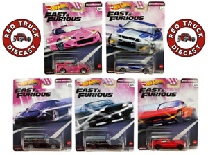 HOT WHEELS PREMIUM 2020 FAST & FURIOUS Mix J QUICK SHIFTERS Set from the box
