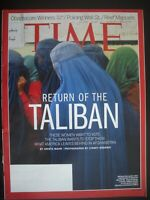 TIME MAGAZINE APRIL 14 2014 RETURN OF THE TALIBAN BY KRISTA MAHR AND AFGHANISTAN