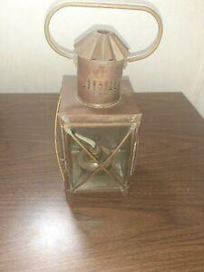 Vintage Brass Lanturn