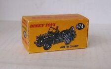 Repro Box Dinky Nr.674 Austin Champ
