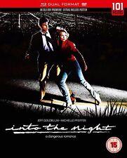 Into The Night DVD R2 and Blu Ray B - Jeff Goldblum Michelle Pfeiffer