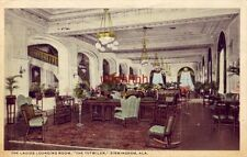 "THE LADIES LOUNGING ROOM ""THE TUTWILER"" BIRMINGHAM, AL 1916"