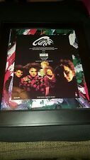 The Cure Mixed Up Rare Original Promo Poster Ad Framed!