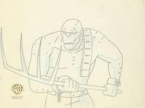 Batman Animated Series- Original Production Drawing-Killer Croc-Sideshow