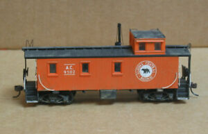 MFG? HO Algoma Central Railway Wooden Caboose #9502
