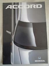Honda Accord GAMA FOLLETO c1990