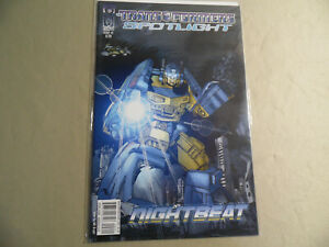 Transformers Spotlight #2 (IDW 2006) Nightbeat / Free Domestic Shipping