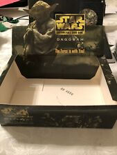 Star Wars CCG Dagobah Limited BB EMPTY DISPLAY BOX Expansion Booster Decipher