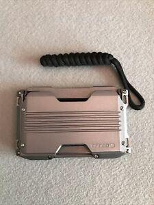Dango A10 Minimalist Wallet With Black Single Pocket