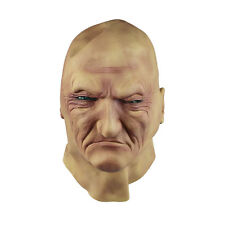 Maschera Realistica Uomo Vecchio Maschio Travestimento Halloween Fancy Dress Bruiser Bouncer Lattice