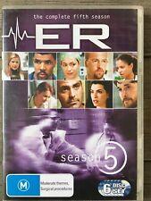 ER - THE COMPLETE FIFTH SEASON (6 X DVDs, 2005, Warner) Series Five 5