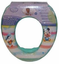 DISNEY MICKEY MOUSE PADDED TOILET SEAT BABY TODDLER INFANT POTTY TRAINING