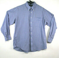 Tommy Hilfiger Long Sleeve Dress Shirt Blue Size 17 34-35 XL Mens (186)