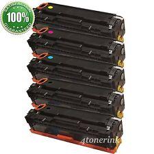 5PK Compatible Toner Cartridge For HP CC530A -CC533A 304A LaserJet CM2320 CP2025