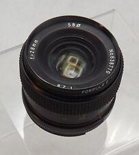 Formula 5 MC F2.8 28mm  Manual Focus Lens -Great Condition