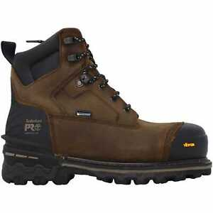 Timberland Boondock HD Brown/Black TB0A29RK214 Men's Size 9.5 Wide
