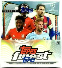 2020-21 Topps Finest Champions League Soccer UEFA Hobby Box PRIORITY MAIL SHIP!!