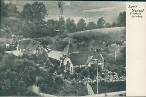 Ansichtskarte Stettin-Westend Forsthaus Eckerberg um 1910 (Nr.9692)
