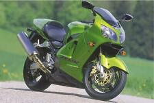 Green Power Kawasaki ZX12R Ninja Sport Bike Motorcycle Photo Poster 36x24