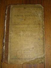 The American school geography, Barnum Field, 8th Edition, w/ Atlas. 1837
