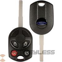 2012 -2013 Ford Focus Escape F350 4 Button 80 Bit High Security Remote Key