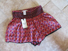 American Rag Santa Fe Multi S Elastic Pull Up NWT Shorts Very Cute !!