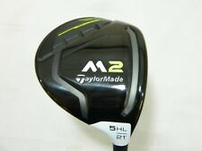 Mint 2017 Taylormade M2 17  21* 5 HL Fairway Wood REAX - Stiff flex M-2